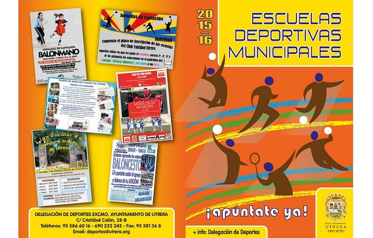 Amplia oferta de las escuelas deportivas municipales para el curso 2015/16