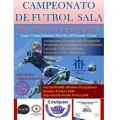 hermandad estudiantes campeonato futbol sala cartel 2