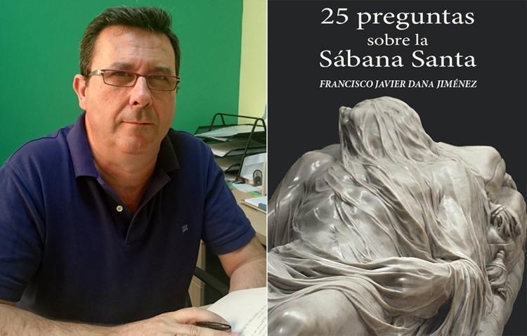 El utrerano Javier Dana publica un libro sobre la Sábana Santa