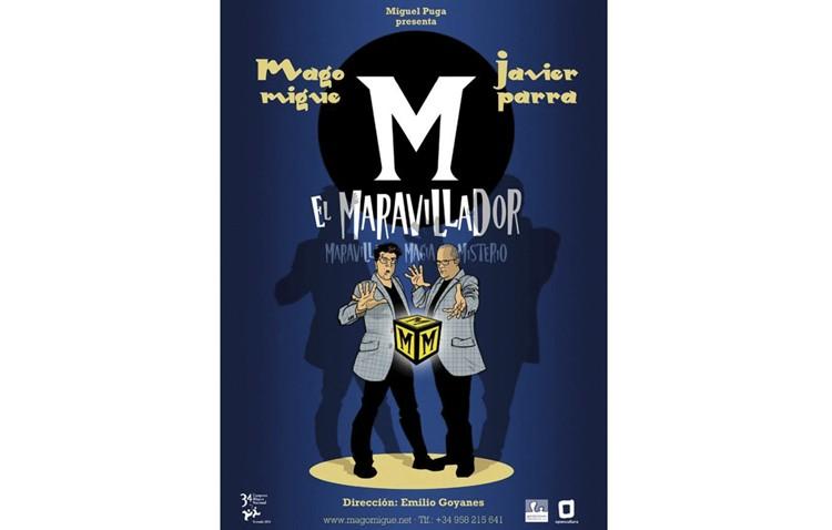 Teatro, humor y magia en el espectáculo familia «M, el maravillador»