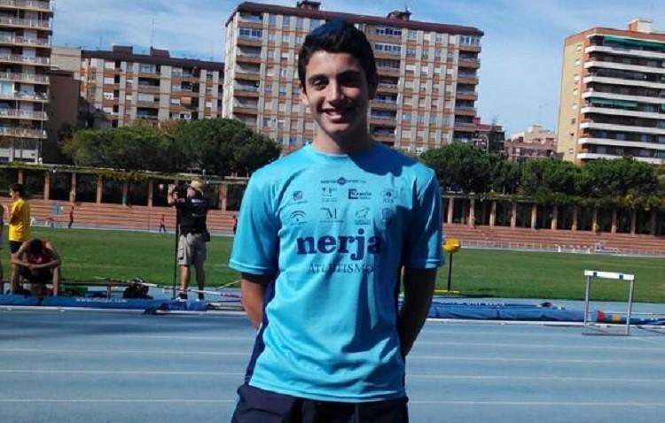 Mario Silva, campeón de España de atletismo con el Nerja