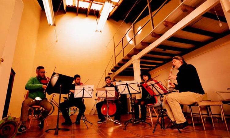 Música de Mozart y Weber para un quinteto de clarinete y cuerda