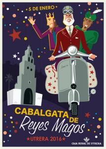 cabalgata reyes magos 2016 cartel