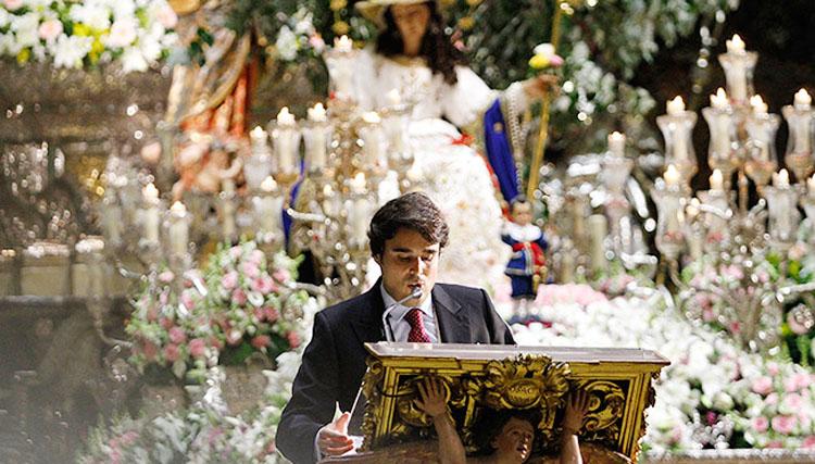 El periodista Carlos Crivell Reyes, pregonero de la Navidad salesiana de Utrera