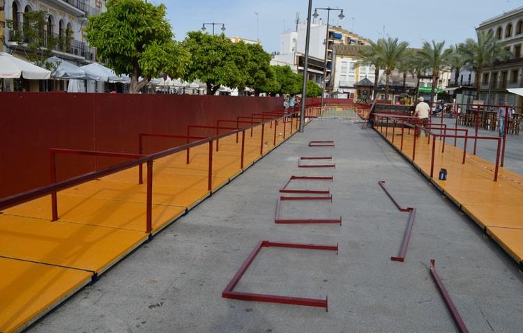 Más palcos, espacio para los discapacitados y sillas de alquiler diario a bajo coste en la ampliación de la carrera oficial