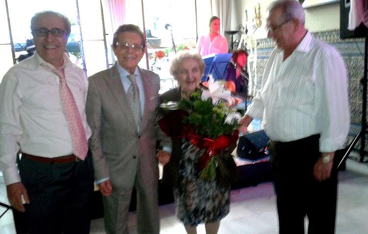 El «Casino» homenajea a Juan Peña Narváez y Diego Jiménez Núñez