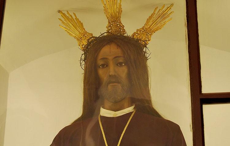 La primitiva imagen del Redentor Cautivo presidirá el acto del primer viernes de diciembre en las Carmelitas