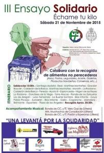hermandad gitanos ensayo solidario 2015 cartel