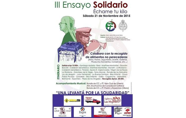 Todo listo para el «Ensayo solidario» de la hermandad de los Gitanos
