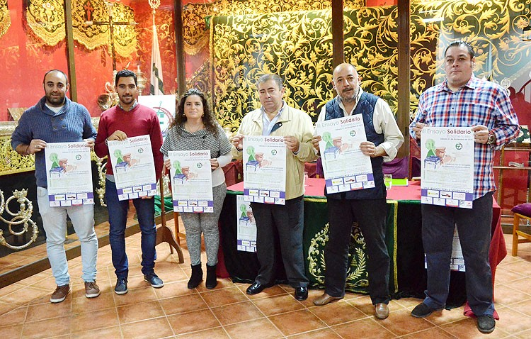 Casi 400 personas participarán en el «Ensayo solidario» de la hermandad de los Gitanos