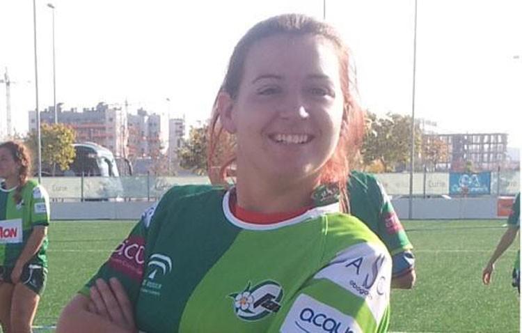 Una utrerana en la selección andaluza de rugby