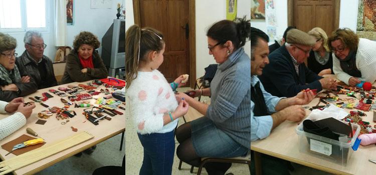 Día de convivencia entre abuelos y nietos en Montellano
