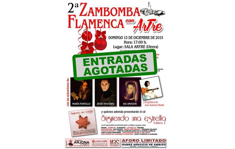 Zambomba flamenca en la sala «Artre»