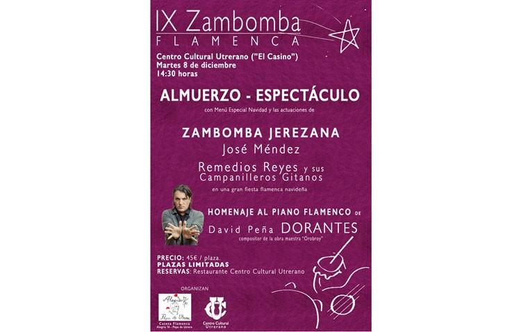 El «Casino» se inunda de sones navideños con una zambomba flamenca