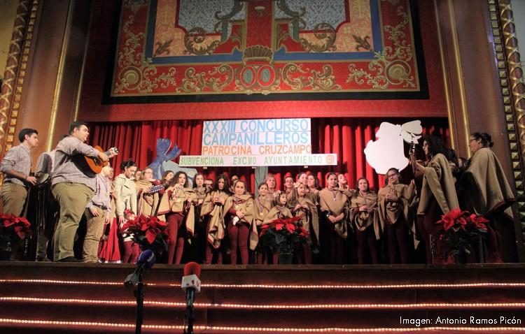 El primer premio del concurso de campanilleros viaja hasta Las Cabezas de San Juan