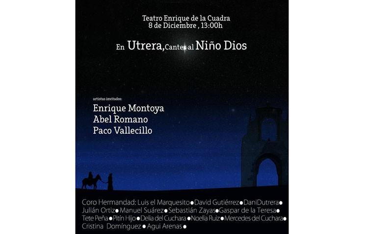 «En Utrera, cantes al Niño Dios» con los sones del coro Hermandad