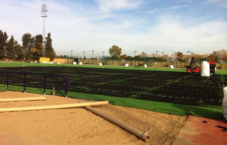 Un torneo de fútbol para inaugurar el césped artificial de Vistalegre