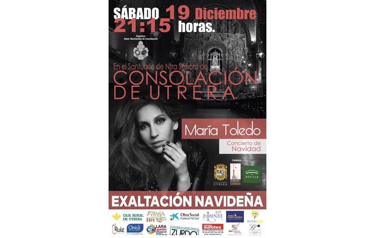 María Toledo acudirá a la presentación del recital navideño