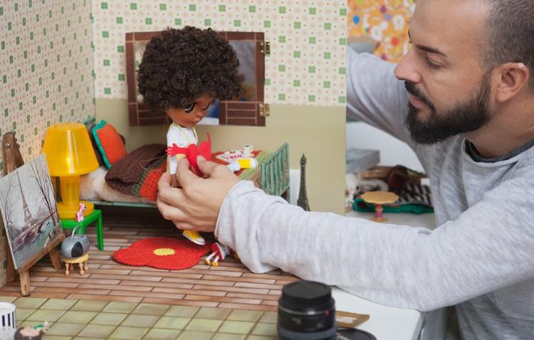 Muñecas que cobran vida gracias al utrerano Rafael Girona (IMÁGENES)