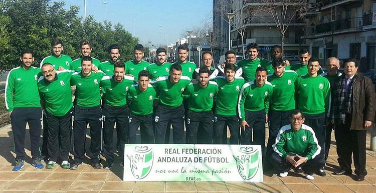 El utrerano Alberto Pozo, convocado por la selección andaluza de fútbol