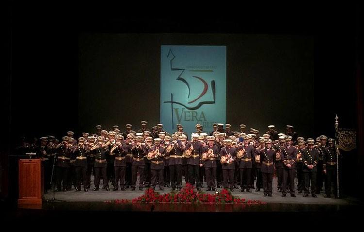 La banda de la Vera-Cruz de Utrera, tercera de la historia en ofrecer un concierto en la sevillana iglesia del Salvador