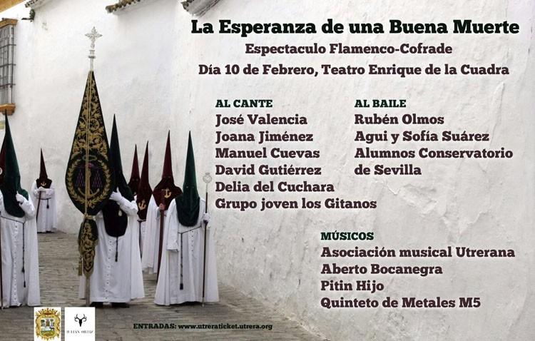 Un espectáculo flamenco-cofrade para comenzar la Cuaresma en Utrera
