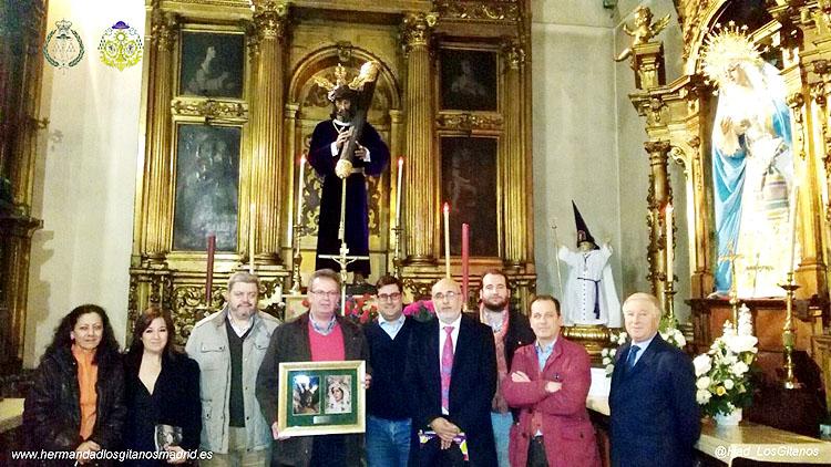Hermanamiento entre la hermandad de los Gitanos de Utrera y la de Madrid