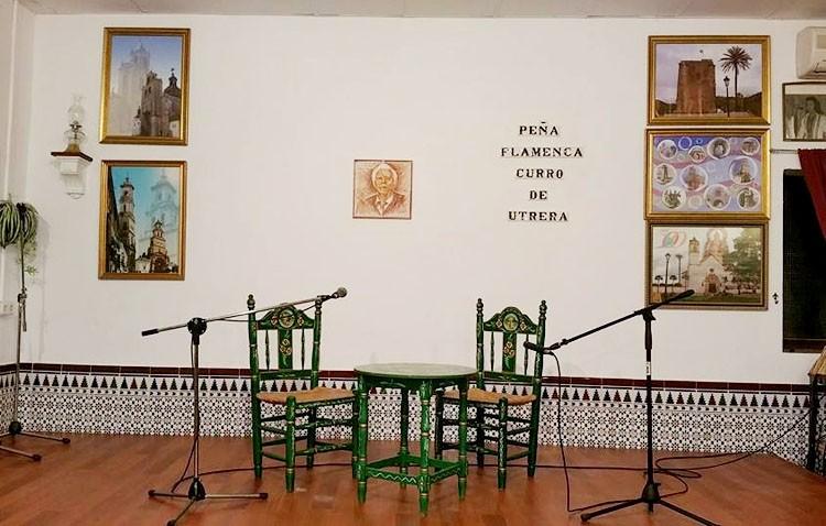 La peña «Curro de Utrera» prepara la cuarta edición de su concurso de cante flamenco