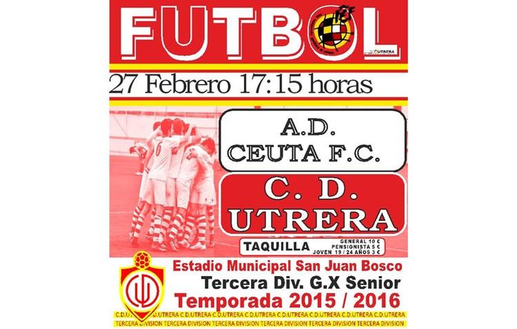 El C.D. Utrera regala este jueves entradas para el partido contra el Ceuta