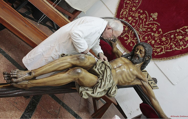 Pequeña intervención de Pérez Conde al Cristo del Amor