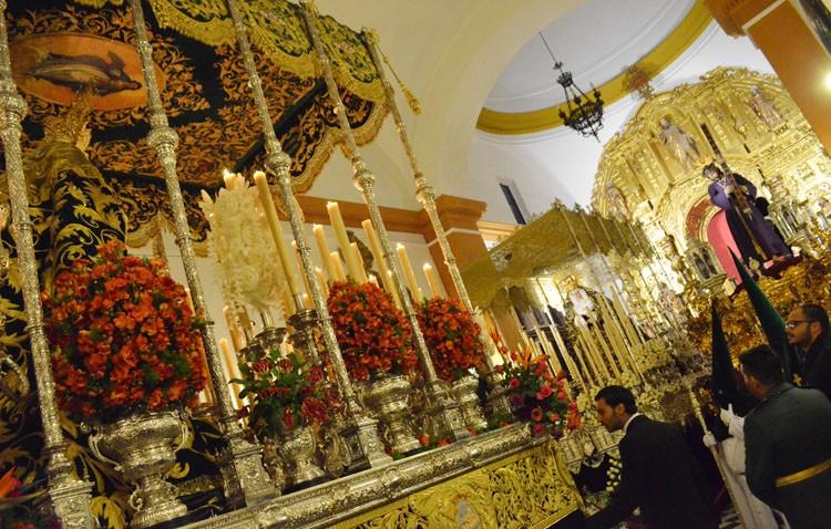 Jueves Santo de esplendor y Madrugá histórica en La Vereda (GALERÍAS Y AUDIOS)