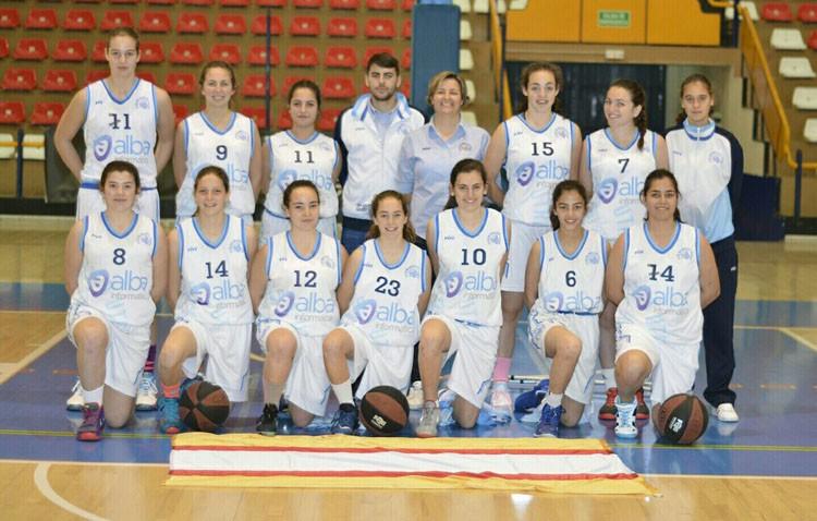 El cadete femenino de baloncesto eliminado del campeonato de Andalucía