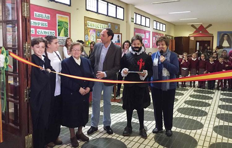 Recta final de la «Semana cervantina» en el colegio Sagrada Familia