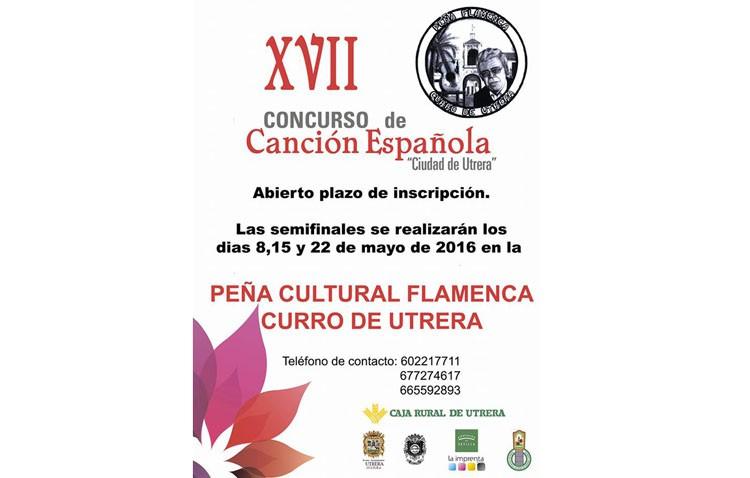 El concurso de canción española calienta motores para su decimoséptima edición
