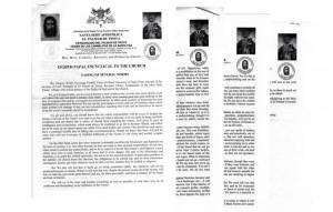 Encíclica publicada por «Gregorio XVIII» a comienzos de 2016