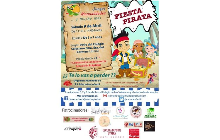 Una «fiesta pirata» para todos los niños de Utrera