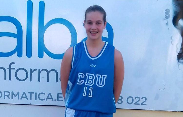 Una utrerana convocada por la selección española de baloncesto