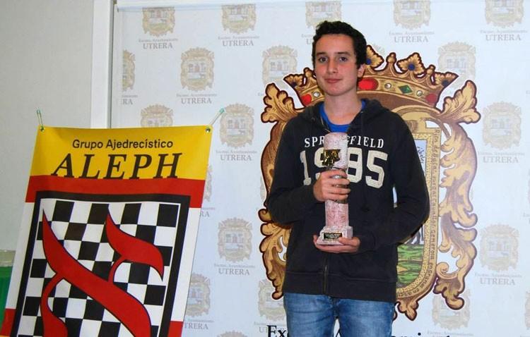 El utrerano Miguel Santos se convierte en Maestro Internacional de Ajedrez con sólo 17 años