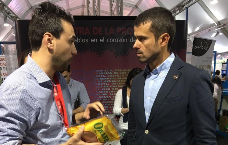 La empresa utrerana Panadería Obando, presente en la Feria del Pan, Aceite y Aceituna de la Provincia de Sevilla