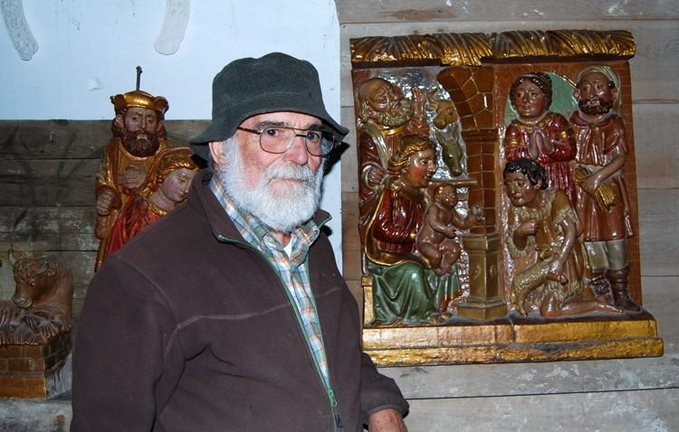 Pedro Hurtado González, un escultor utrerano con una obra muy extensa realizada en diversos formatos