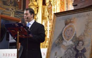 Juan José Pardillo durante su intervención