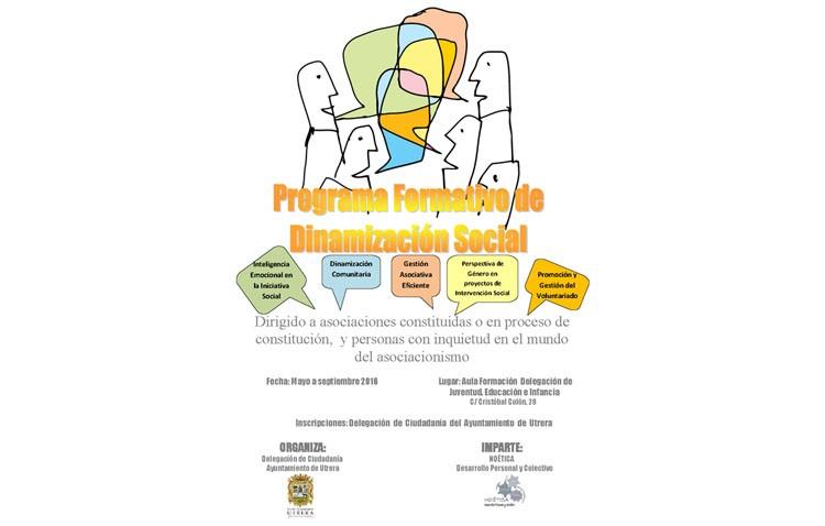 Un programa de dinamización social para asociaciones y personas interesadas en el asociacionismo