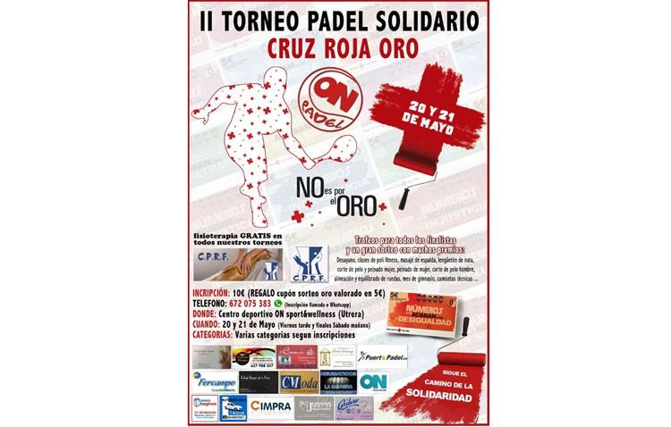 II Torneo de pádel solidario en beneficio a la Cruz Roja