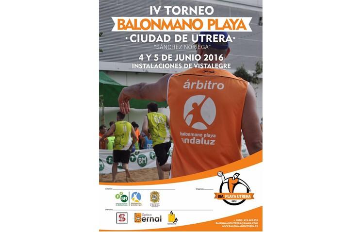 IV Torneo de balonmano playa «Ciudad de Utrera»