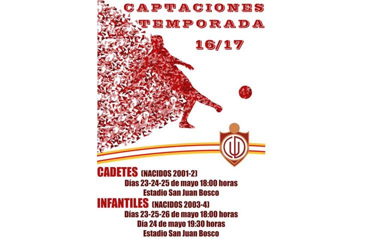 El C.D. Utrera comienza las jornadas de captaciones para la temporada 2016-2017