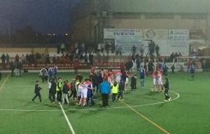 Celebración de la permanencia en Tercera División