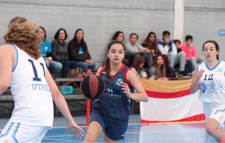 Las utreranas consiguen el pase a semifinales en el Campeonato de Andalucía de Baloncesto