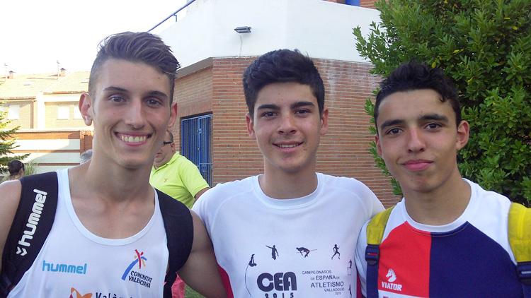 El utrerano Adrián Durán, campeón juvenil de jabalina en el campeonato de Atletismo de Andalucía