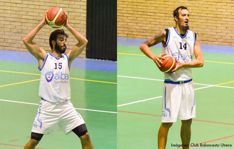 Los jugadores de baloncesto Carlos García y Nacho Romero fichan por el CBD Enrique Benítez