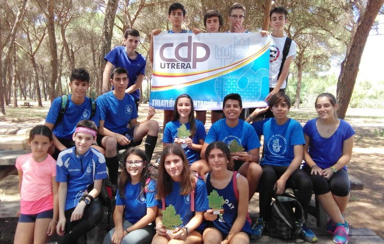El Club Poseidón arrasa en el Circuito Provincial de la Diputación de Sevilla
